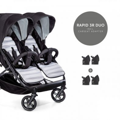 Коляска для погодок и двойни Hauck Rapid 3R Duo